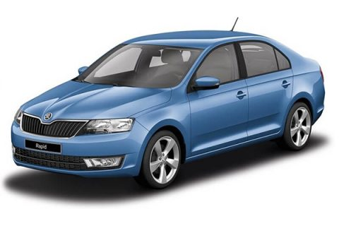 Rent a car - Imotski - Skoda Rapid